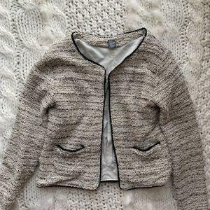 Zara girls boucle jacket